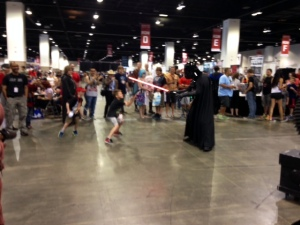 Darth Fights Boy
