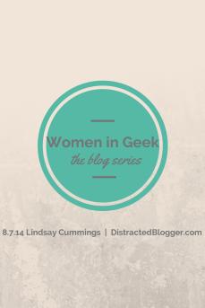 Women in Geek Lindsay Cummings