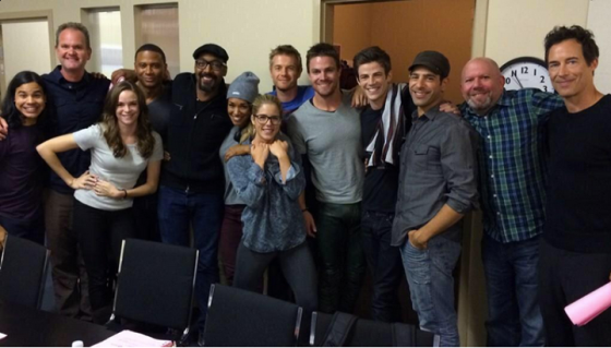 Arrow and The Flash cast