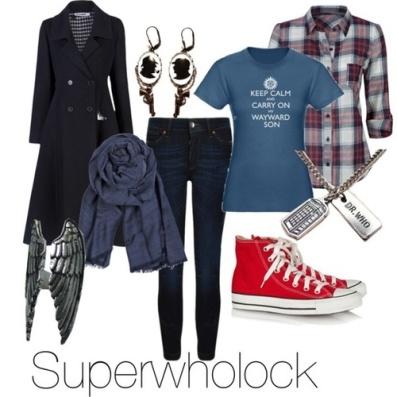superwholock cosplay