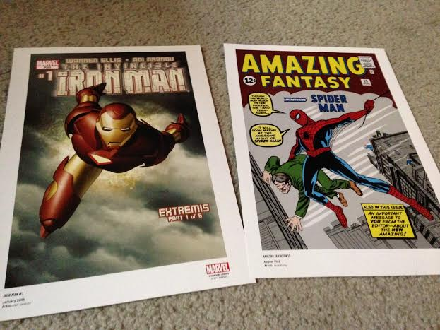 marvel prints