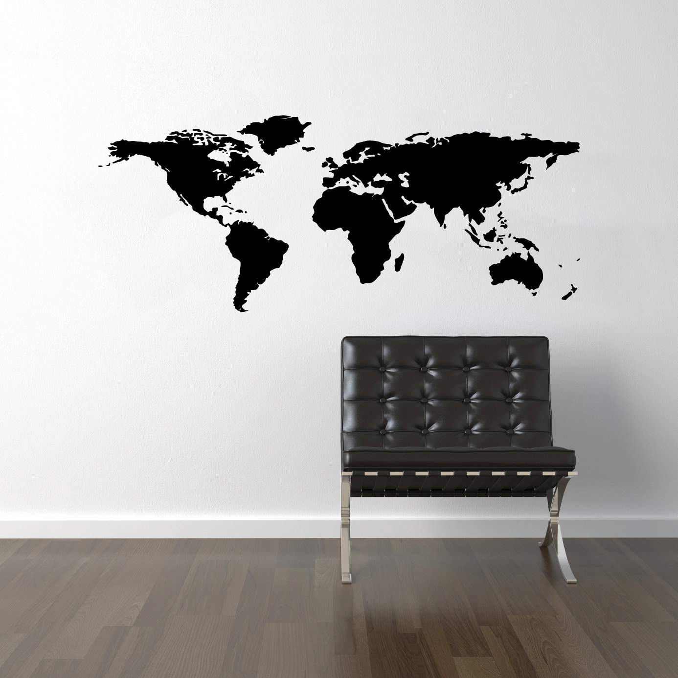 world map. Normally, folks stick these to an actual wall, not a canvas, but since I am not geographically or artistically inclined, I opted to use one of ...