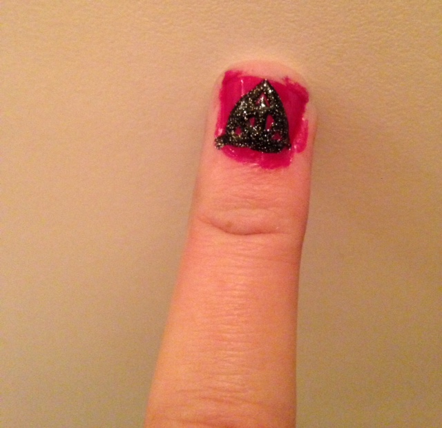 Deathly Hallows Nail Fail