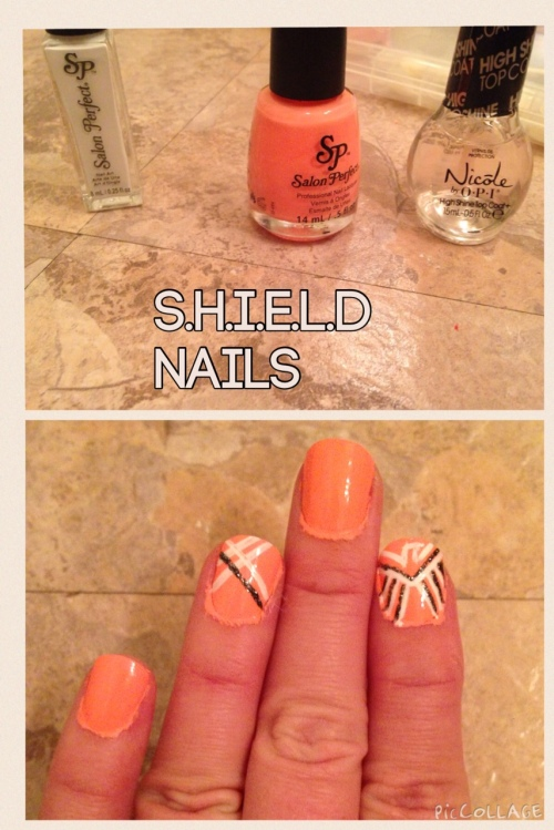 Fandom Nails: SHIELD Logo