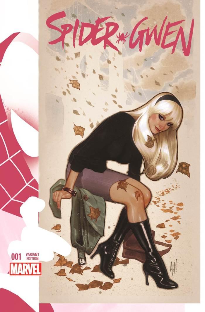 Spider-Gwen_1_Hughes_Variant