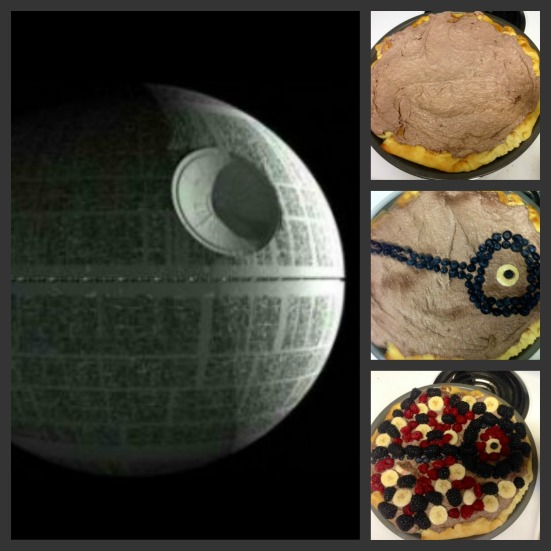 Death Star Fruit Pizza