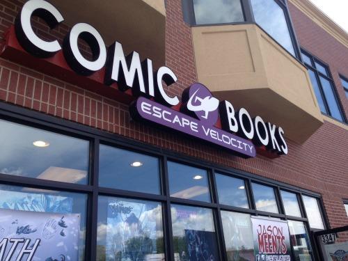 Escape Velocity Comics