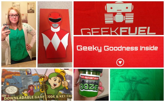 Geek Fuel Box Collage