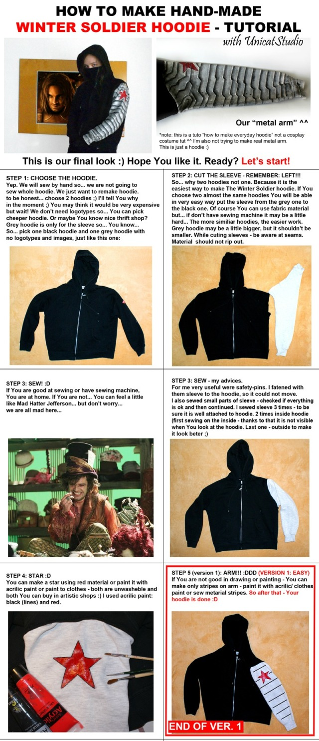 winter_soldier_hoodie tutorial easy